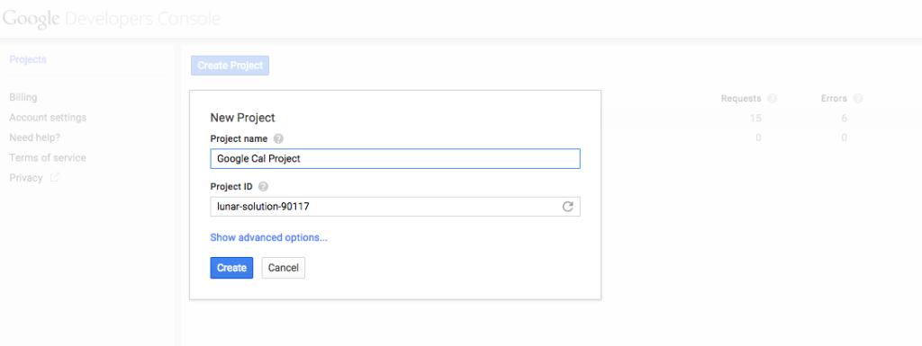 Google Calendar Integration with salesforce