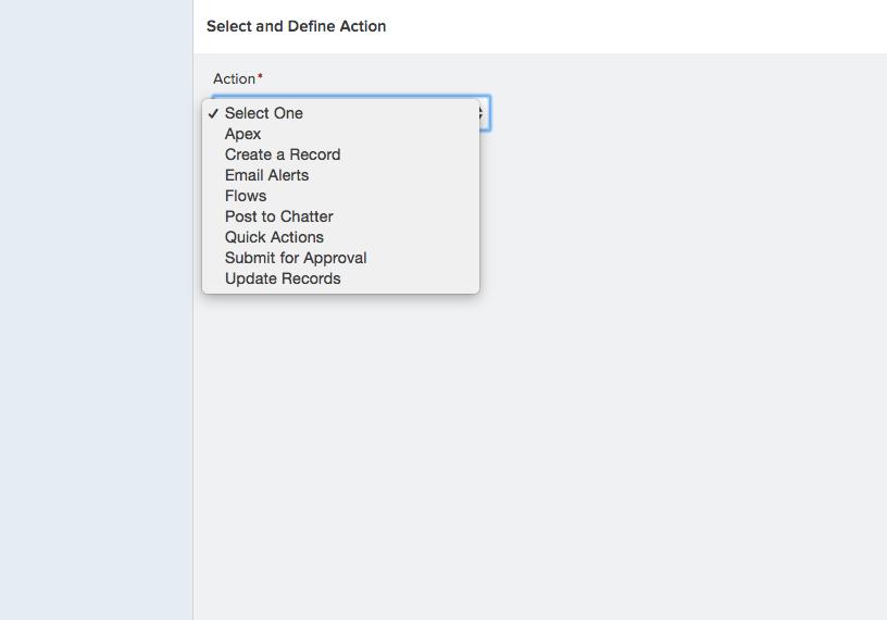 Invoke Apex with Lightning Process Builder